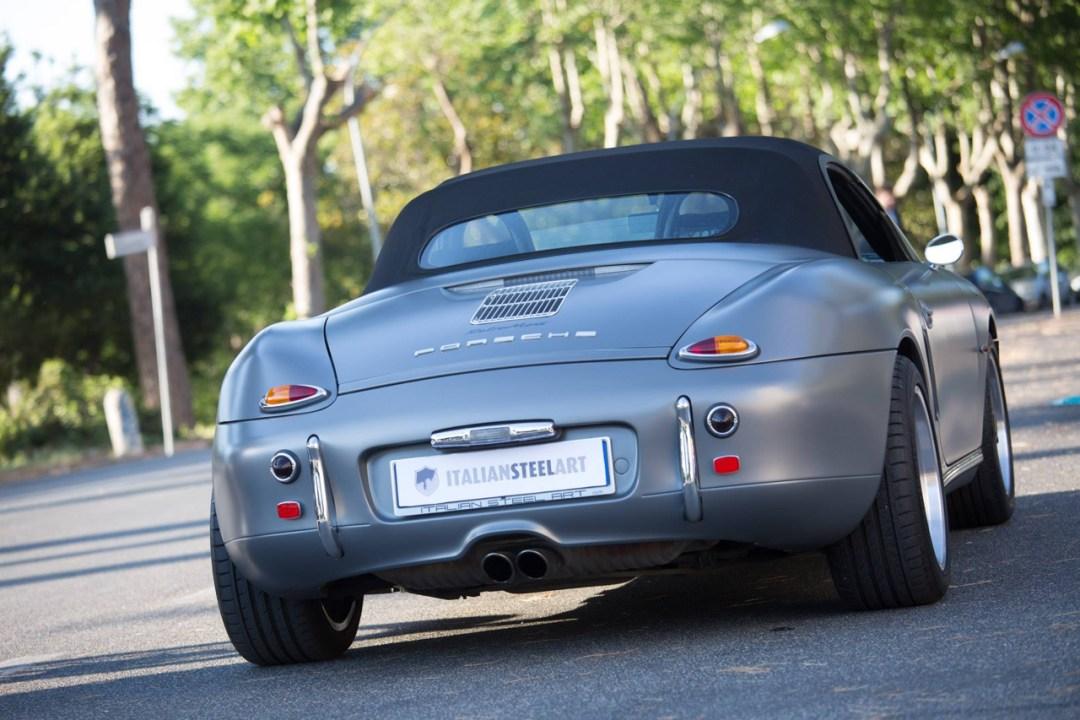 Porsche ItalSteelArt... Boxster + 356 = RetroMod ! 19
