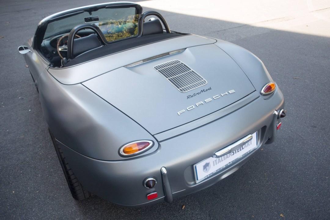 Porsche ItalSteelArt... Boxster + 356 = RetroMod ! 22