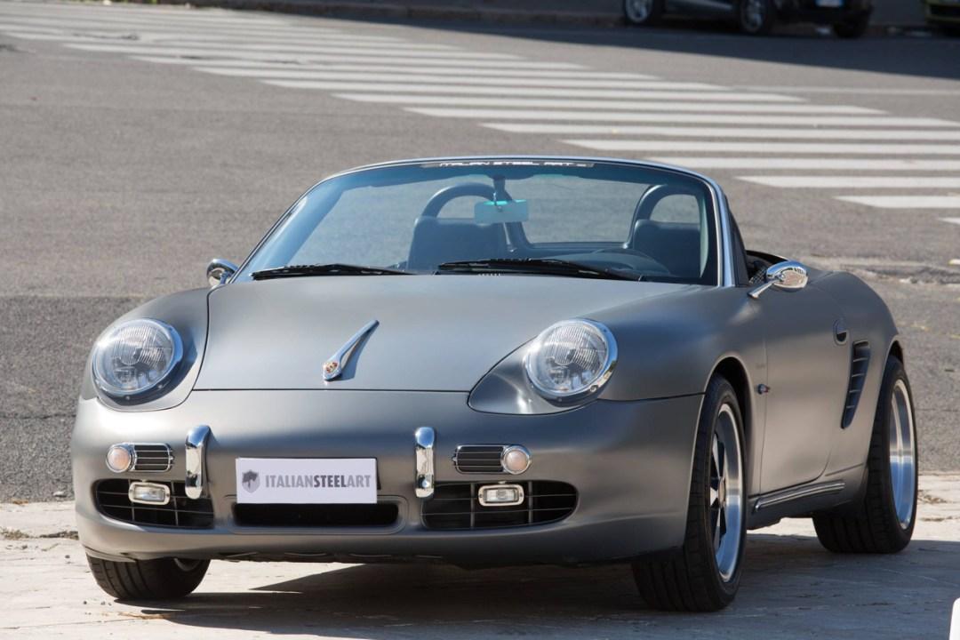 Porsche ItalSteelArt... Boxster + 356 = RetroMod ! 21