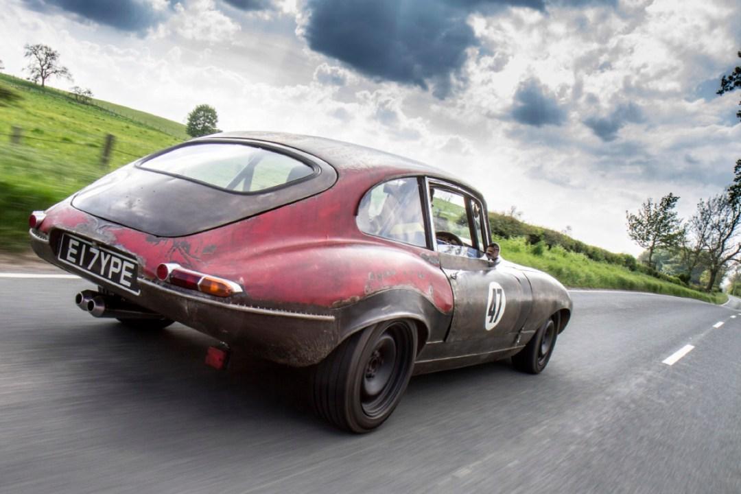 Rat Rod Mods en Jaguar Type E... Pour emmerder les puristes ! 28