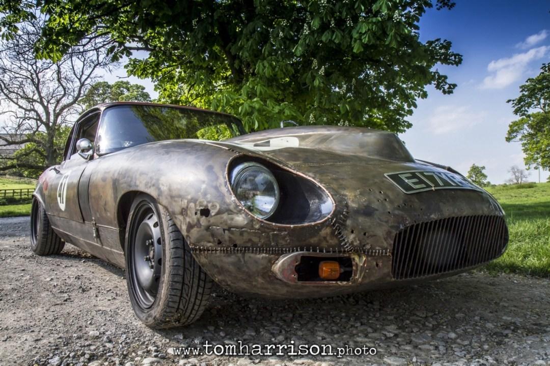 Rat Rod Mods en Jaguar Type E... Pour emmerder les puristes ! 23