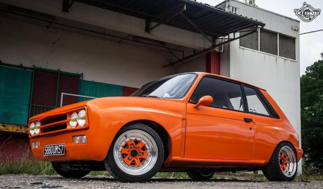 Peugeot 104 ZS sous stéroïdes ! 45