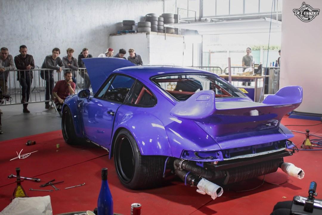 1ère Porsche 964 RWB France... Champagne ! 106