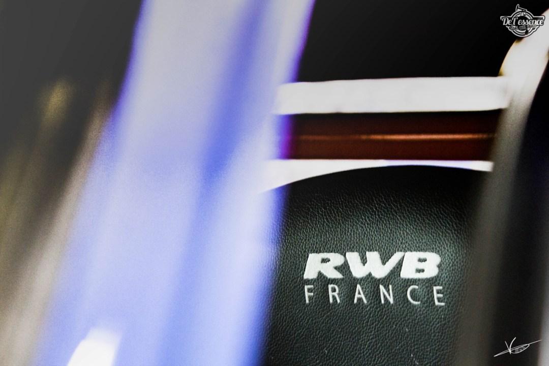1ère Porsche 964 RWB France... Champagne ! 97