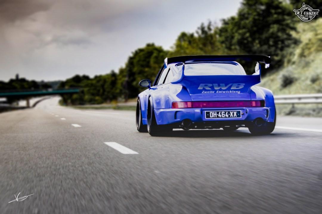 1ère Porsche 964 RWB France... Champagne ! 99