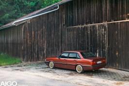 DLEDMV - Audi 90 low & slow en BBS - 008