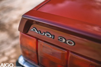 DLEDMV - Audi 90 low & slow en BBS - 014