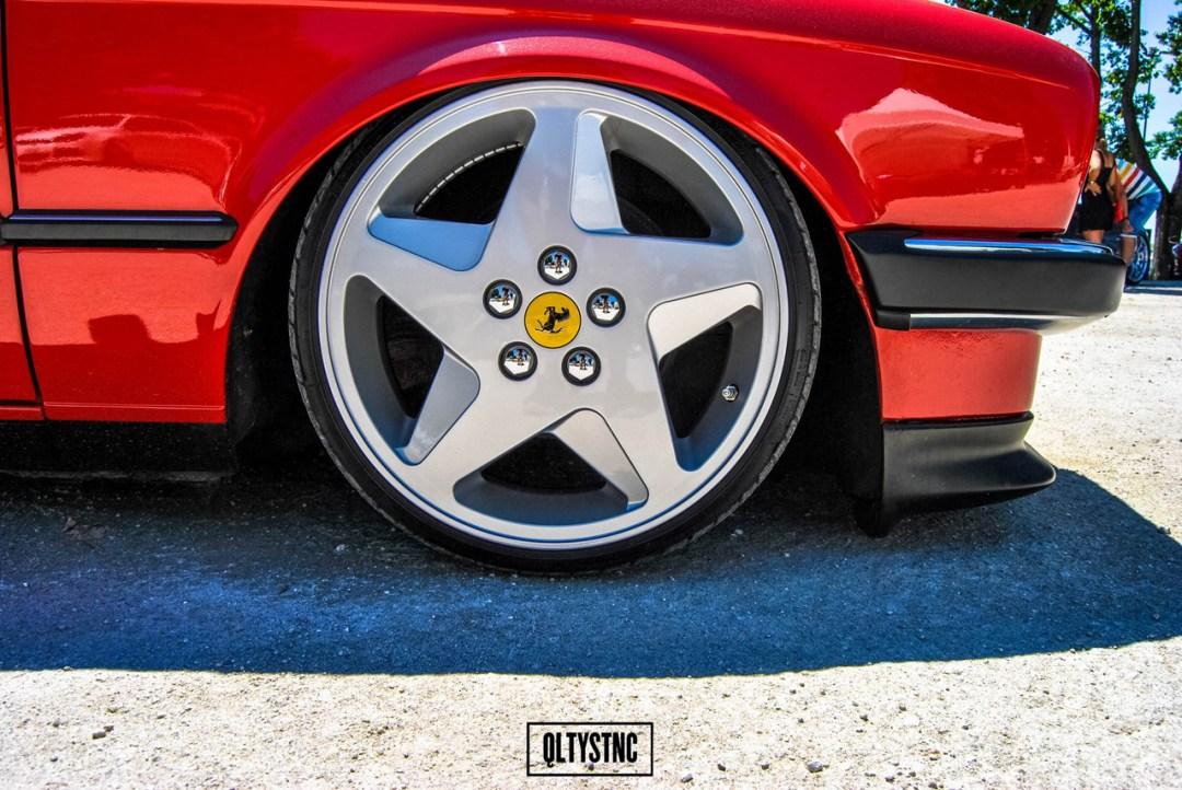 Une BMW E30 chaussée en Ferrari ! 29