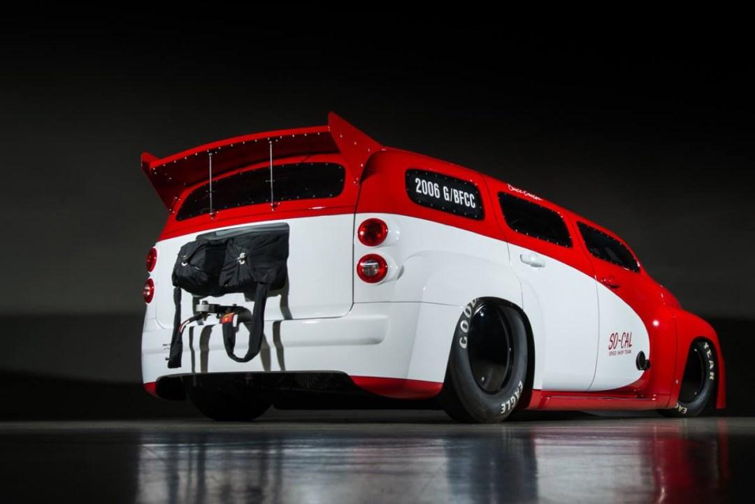 SO-CAL Chevrolet HHR Bonneville : 1200 ch et un peu de sel ! 55