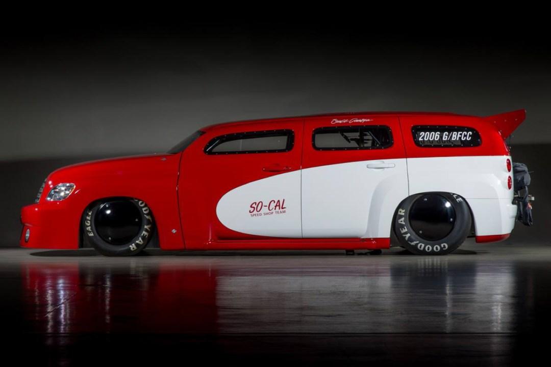 SO-CAL Chevrolet HHR Bonneville : 1200 ch et un peu de sel ! 53