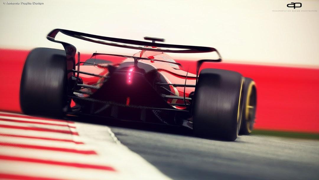F1 Vision Concept par Antonio Paglia : La F1 de 2025... 23