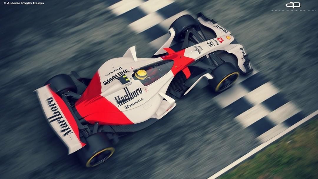 F1 Vision Concept par Antonio Paglia : La F1 de 2025... 21