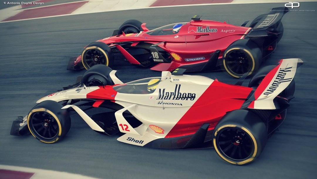 F1 Vision Concept par Antonio Paglia : La F1 de 2025... 24