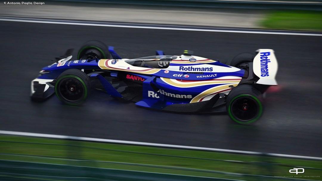 F1 Vision Concept par Antonio Paglia : La F1 de 2025... 19