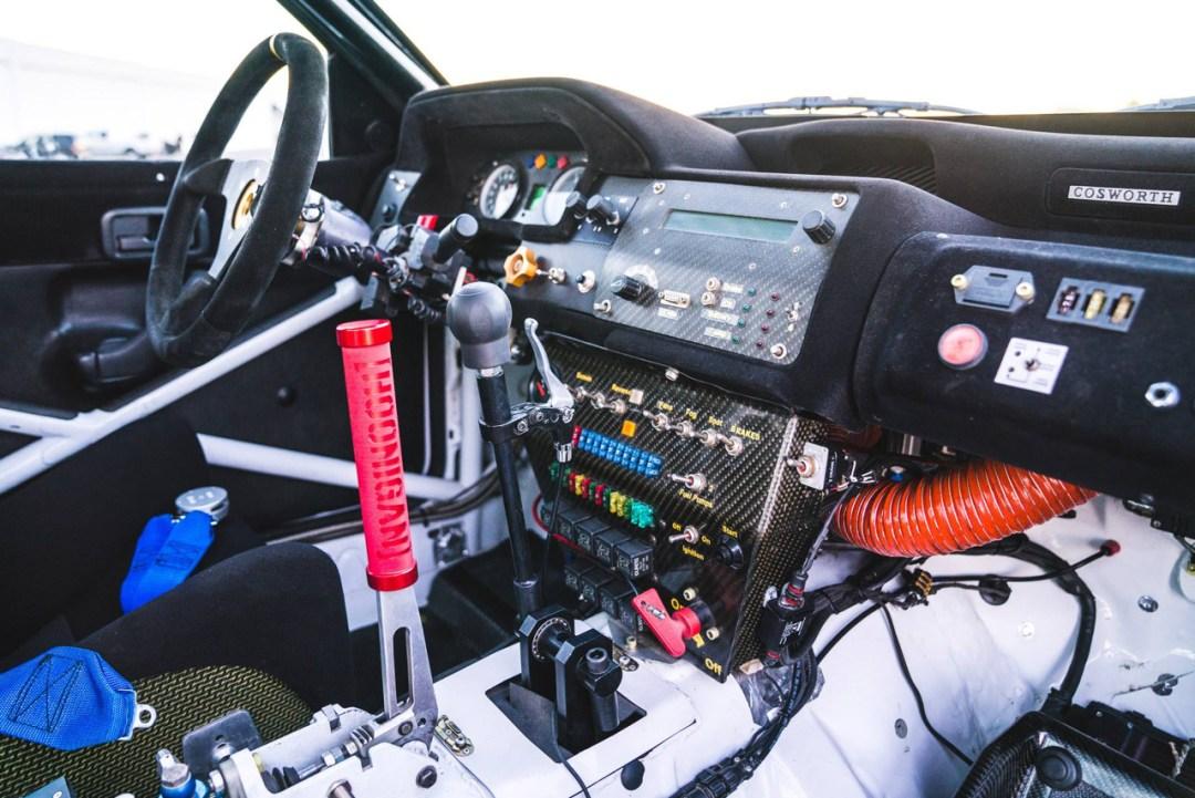 La dernière arrivée dans le garage de Ken Block : Une Ford Escort RS Cosworth 24