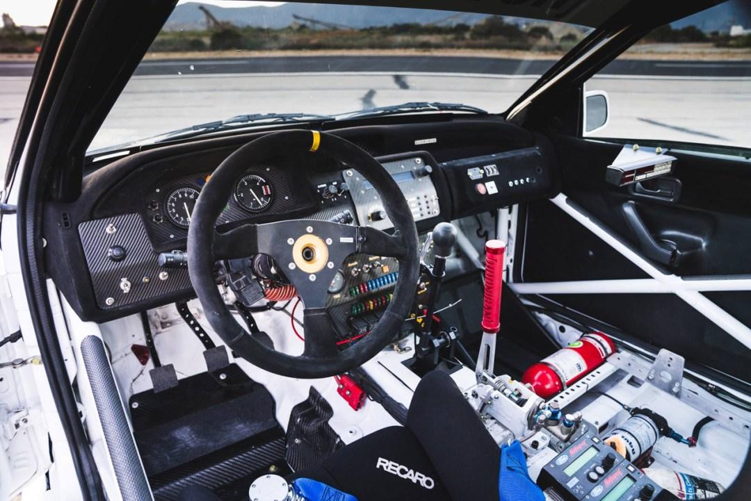 La dernière arrivée dans le garage de Ken Block : Une Ford Escort RS Cosworth 30