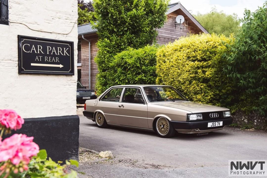 Audi 80 B2... coupé, V6, airride et BBS ! 54