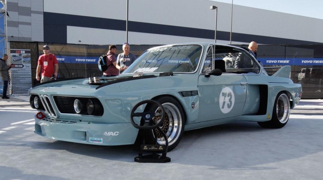 "'73 BMW 3.0 CSL.... Sema 2K17 ""Best Euro"" Gran Turismo Award ! 23"