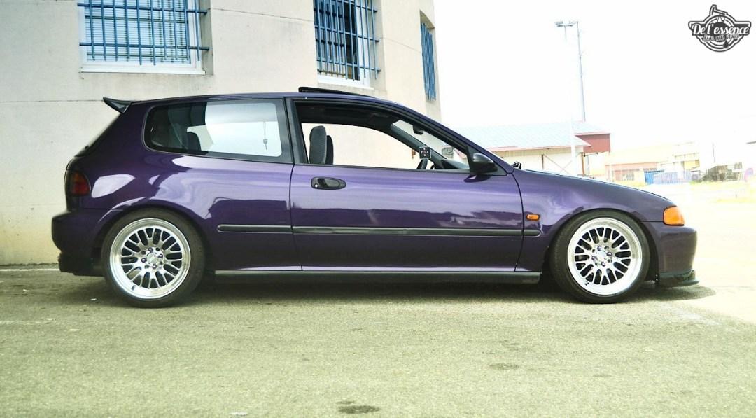 Julie's Honda Civic : Skittles 31