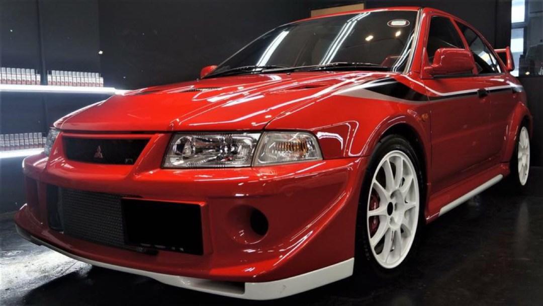 Mitsubishi Lancer Evo 6 Tommi Makinen Edition : ADN de championne 51