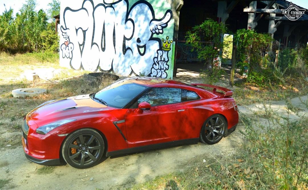 Nissan GTR R35 : Godzilla voit rouge ! 94