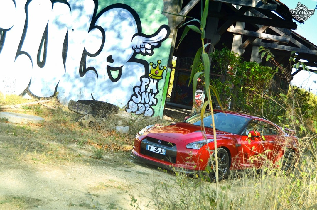 Nissan GTR R35 : Godzilla voit rouge ! 104