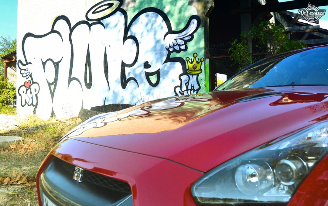 Nissan GTR R35 : Godzilla voit rouge ! 90