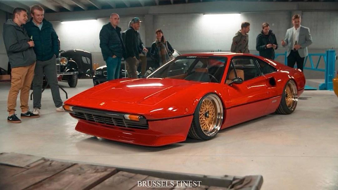 Bagged Ferrari 308 GTB... Air Magnum ! 31