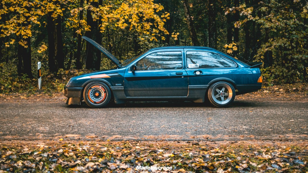 Justa '85 Ford Sierra V6 Cosworth : Bestiale ! 72