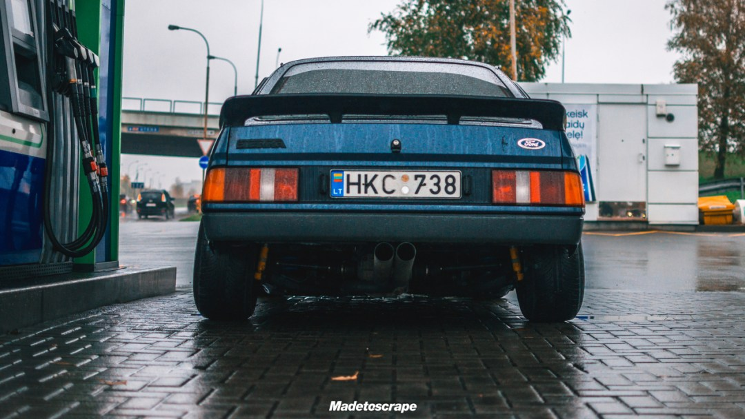Justa '85 Ford Sierra V6 Cosworth : Bestiale ! 73