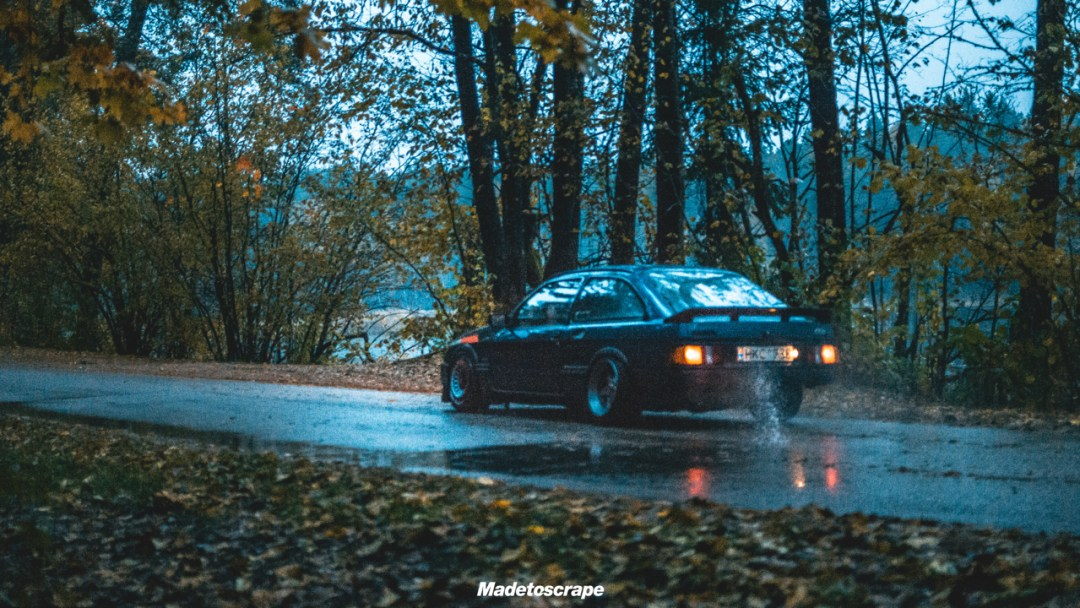 Justa '85 Ford Sierra V6 Cosworth : Bestiale ! 77