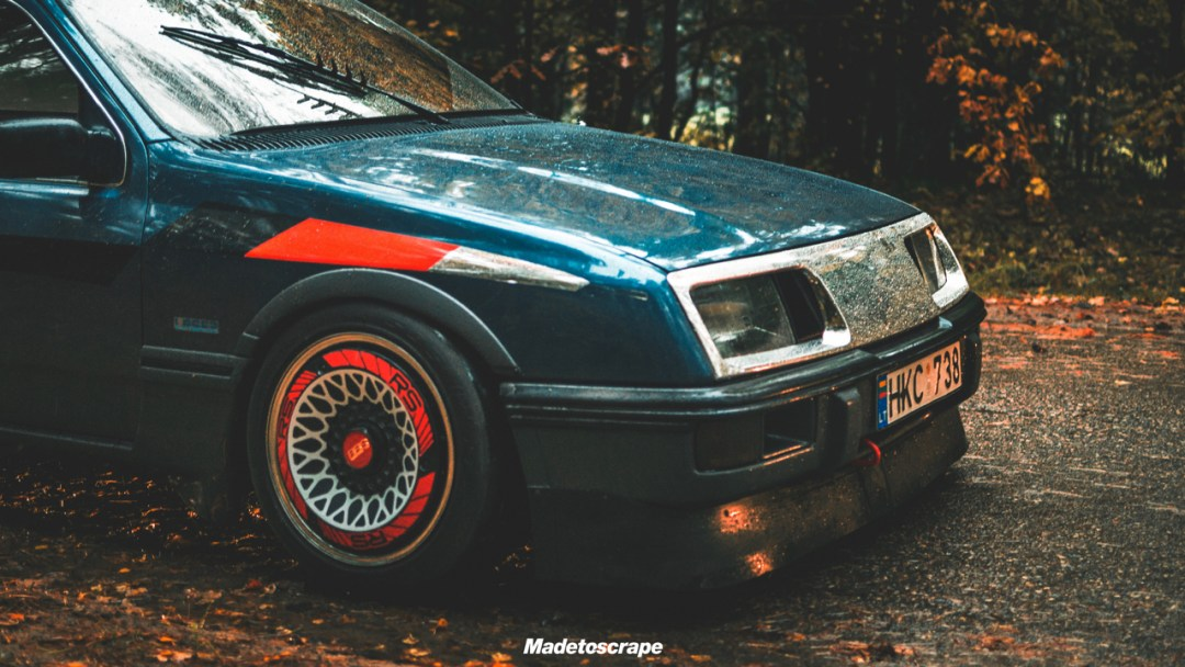 Justa '85 Ford Sierra V6 Cosworth : Bestiale ! 88
