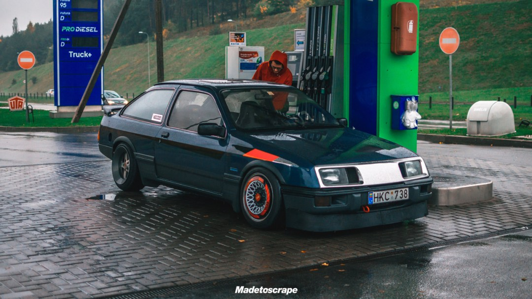 Justa '85 Ford Sierra V6 Cosworth : Bestiale ! 82