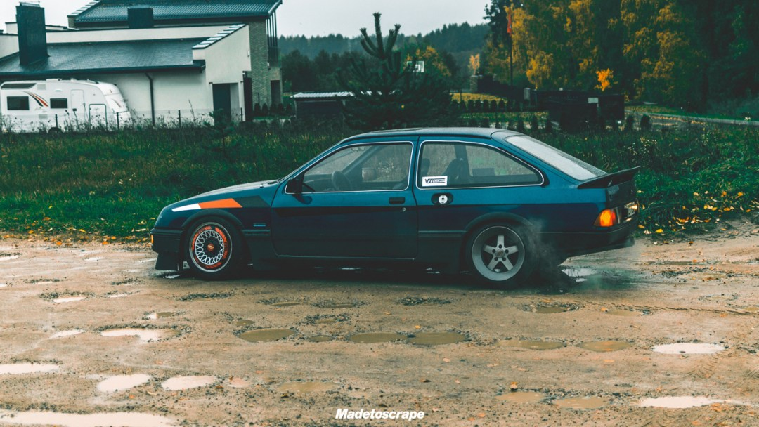 Justa '85 Ford Sierra V6 Cosworth : Bestiale ! 68