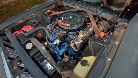 DLEDMV 2019 - Ford Mustang Bullitt Mecum - 006