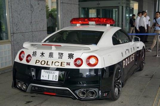 DLEDMV 2K18 - Nissan GTR Police Tochigi - 10