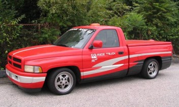 DLEDMV 2K19 - Dodge Ram - PPG Pace car 96 - 001