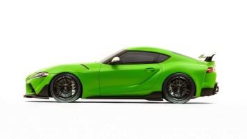 DLEDMV 2K19 - #SEMA - Toyota Supra Wasabi Concept - 004