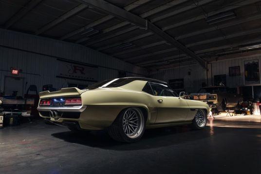 DLEDMV 4SEMA 2019 - Camaro 1969 Restomod Appellez là Valkyrja 04