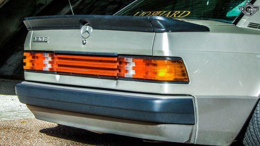 DLEDMV La Mercedes 190de JC – Violence visuelle 05