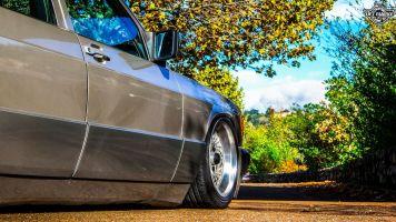 DLEDMV La Mercedes 190de JC – Violence visuelle 11