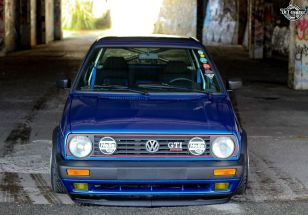 DLEDMV La Volkswagen Golf II swap III GTI de Florian 09
