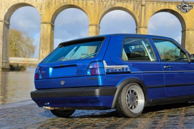 DLEDMV La Volkswagen Golf II swap III GTI de Florian 20