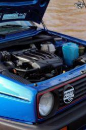 DLEDMV La Volkswagen Golf II swap III GTI de Florian 33