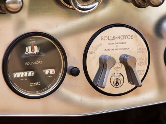 DLEDMV 2021 - Rolls Royce Silver Ghost Picadilly Roadster - 011