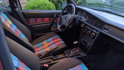 DLEDMV 2021 - Mercedes 190 Avantgarde Airride BBS - 003