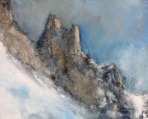 Aiguille du Midi (Mont-Blanc) - 81x65cm