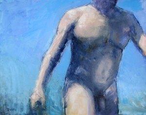 Claude - huile sur toile - 92x73cm