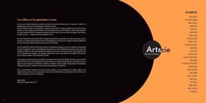 Catalogue Exposition Art&cie 2017 - L