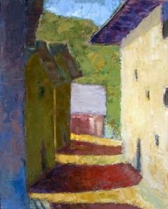 Saint-Marcel - oil on canvas - 81x65cm